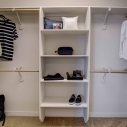 Storage space in owner closet