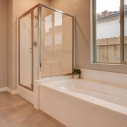 Owner shower and tub
