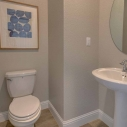 Additional powder room