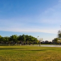 Basketball courts at park
