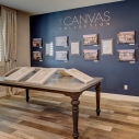 Canvas collection show room
