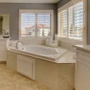 Owners tub and vanity