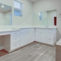 Owner bath counter space
