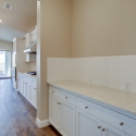 The butler pantry which connects the formal dining room to the kitchen.
