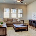 Large open space living area.