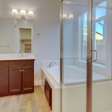 Secondary view of the owner's bathroom.
