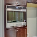 Built-in Whirlpool stove.