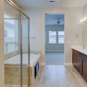 The owner's bathroom.
