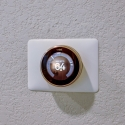 Pre-installed Nest smart thermostat.
