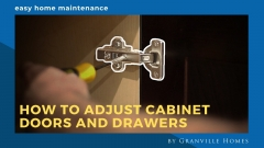 How to Adjust Cabinet Doors and Drawers Video Thumbnail