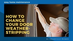 How to Change Your Door Weatherstripping Video Thumbnail
