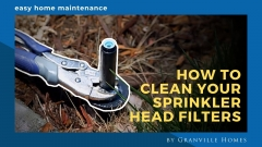 How to Clean Your Sprinkler Head Filters Video Thumbnail