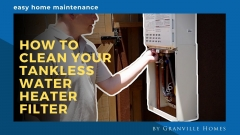 How to Clean Your Tankless Water Heater Filter Video Thumbnail