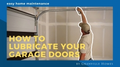 How to Lubricate Your Garage Door Video Thumbnail