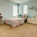 The third bedroom, shown staged as a kid's room.