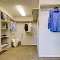 The extended owner's walk-in wardrobe.