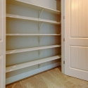 The large upstairs linen closet.