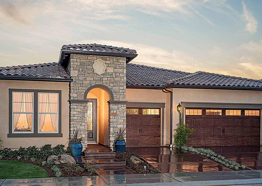 Bella Traditional With Stone Exterior