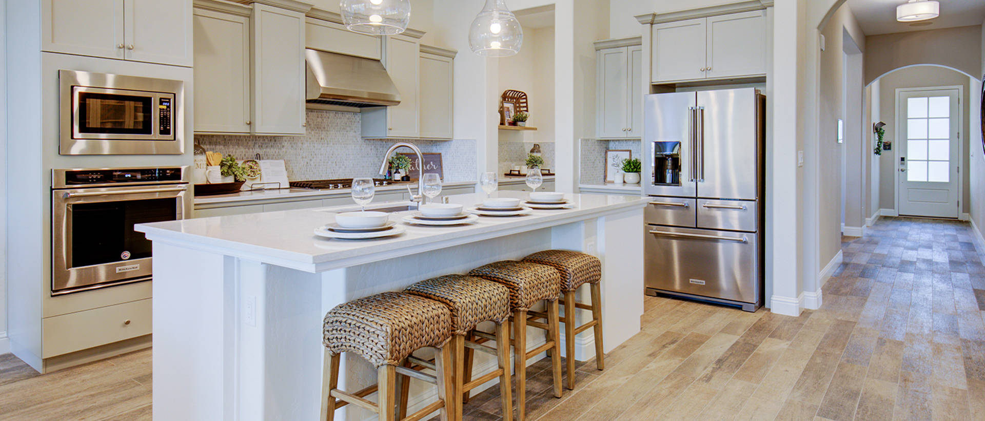 Kitchen of Bella Model Home
