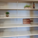 The large step-in pantry.