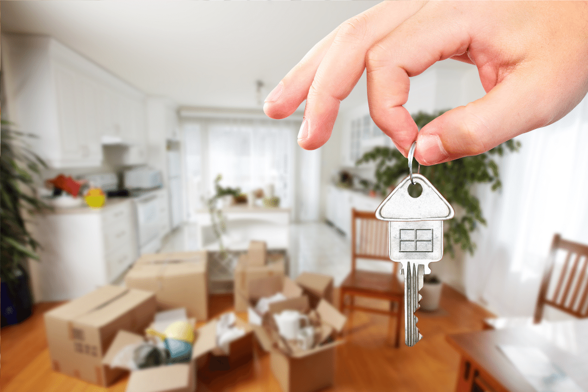 Rent First, Keys For New Home