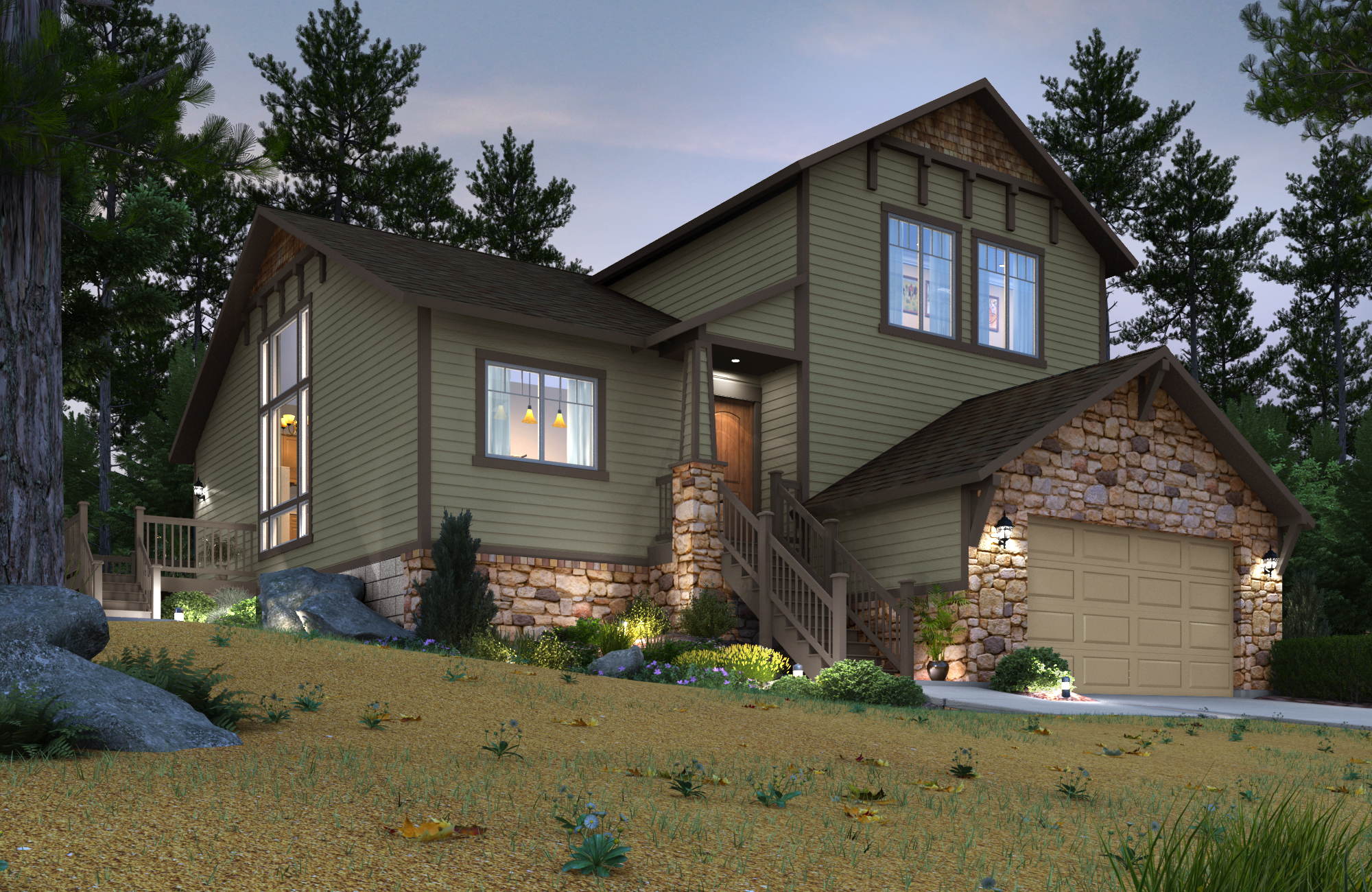 Sunrock at shaver lake luxury vacation homes for sale by for Granville home